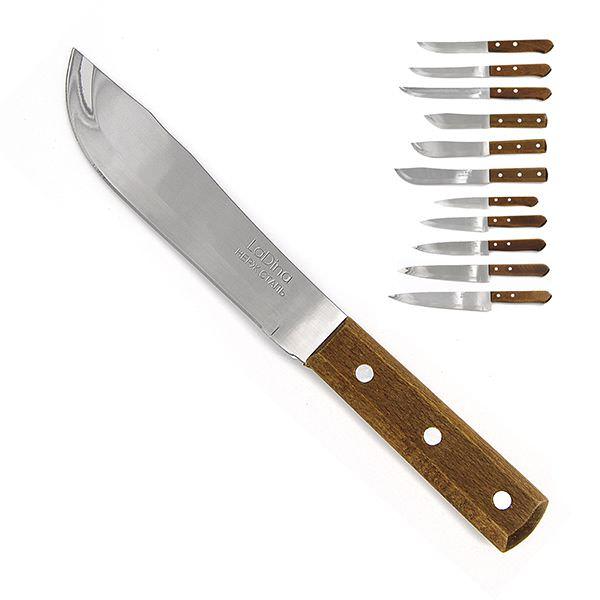 Нож кухонный LaDina деревянная ручка 25,5см 20036/240/12