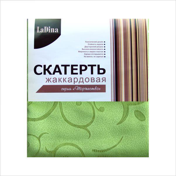 Скатерть  LaDina жаккардовая №3 150*220/80