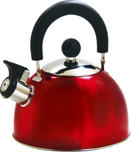 Чайник LaDina со свистком 2,5л. (нерж.сталь) 53025/12