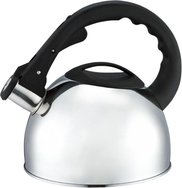 Чайник LaDina со свистком 3л. (нерж.сталь) 53003-1