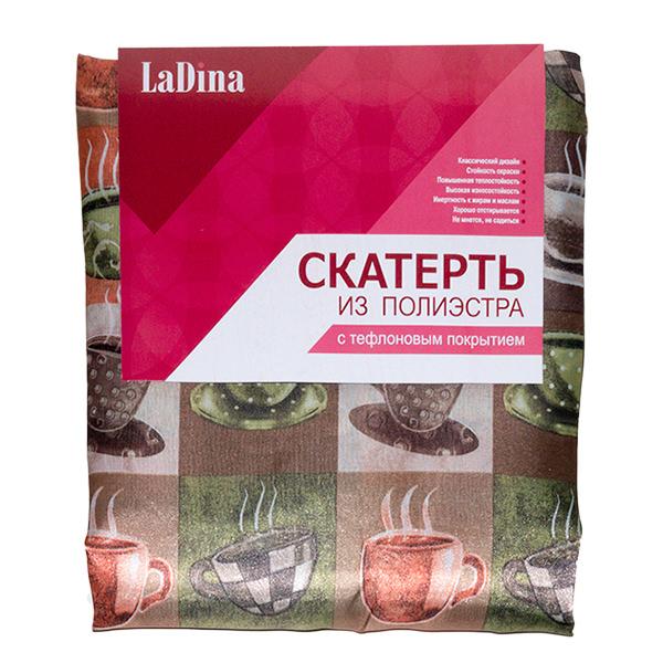 Скатерть LaDina с тефлоновым покрытием №5 150*240/60