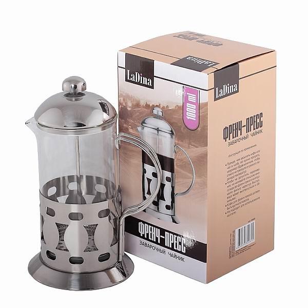 Френч пресс заварочный чайник 1000 ml артикул 50008/12