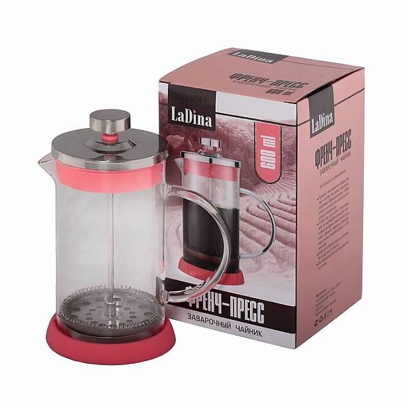 Френч пресс заварочный чайник 600 ml артикул 80006/30