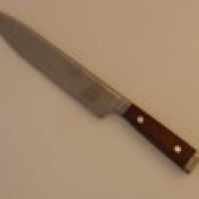 Нож острое лезвие №8