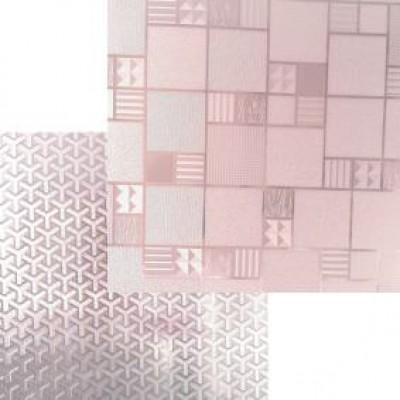 Термоскатерть силикон 0,65мм (прозрачн с рисунком) 80см*120см/40