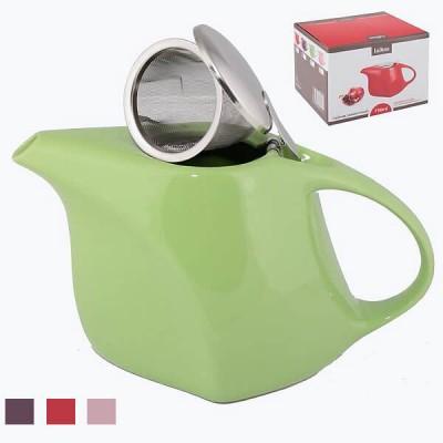 Чайник заварочный керамический со стальным фильтром 750ml арт 12700/16
