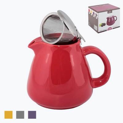 Чайник заварочный керамический со стальным фильтром 1300ml арт 12703/12