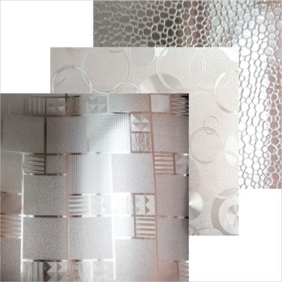 Термоскатерть силикон 0,65мм (прозрачн с рисунком) 80см*20м/1