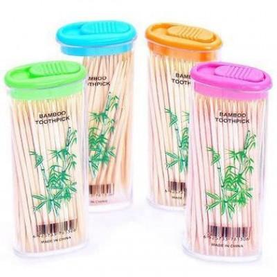 Зубочистки бамбуковые в футляре ( 50 шт) 1152/24