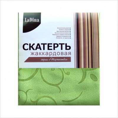 Скатерть  LaDina жаккардовая №3 150*220