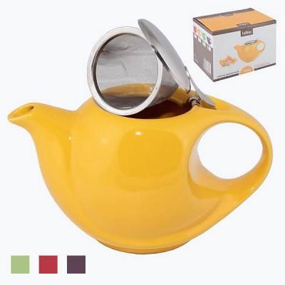Чайник заварочный керамический со стальным фильтром 750ml арт 12701/16
