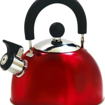 Чайник LaDina со свистком 2,5л. (нерж.сталь) 53025