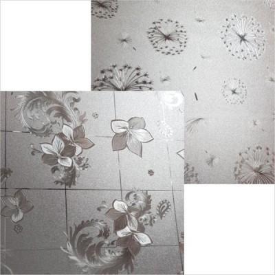 Термоскатерть силикон 0,65мм (золотистая с рисунком) 100см*20м/1