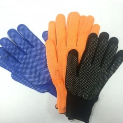 Перчатки нейлон с ПВХ №8