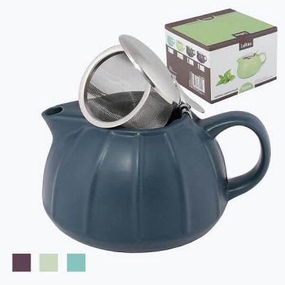 Чайник заварочный керамический со стальным фильтром 950ml арт 12702/24