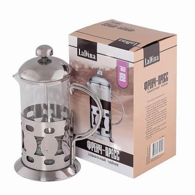 Френч пресс заварочный чайник 600 ml артикул 50006/24