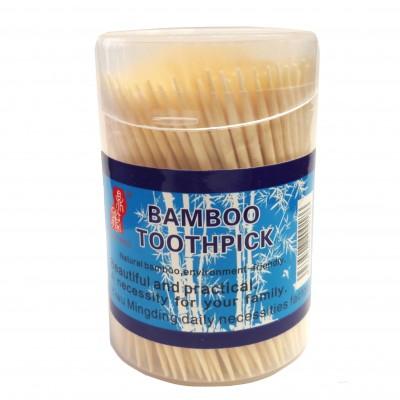 Зубочистки бамбуковые в футляре (300шт) 1820/400/10